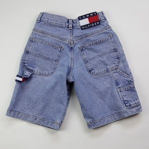 Vintage Tommy Hilfiger Blue Jean Carpenter Shorts